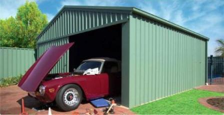 steel sheds ideal as steel garages for your cars